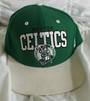 Boston Celtics MITCHELL & NESS Snapback NBA Hat Cap Green Hardwood Classics