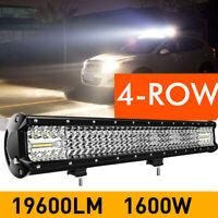 12D 20Inch 1600W Led Spot Flood Combo Work Light Bar VS 8D 9D 10D 20 23 24