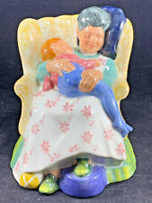 Vintage Royal Doulton Figurine Sweet Dreams Hn 2380 - Woman With Child Excellent