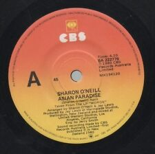 "SHARON O'NEILL   Rare 1980 Australian Only 7"" OOP Rock Single ""Asian Paradise"""