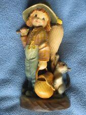 """Anri """"Butterfly Boy"""" figure by Ferrandiz 6 inch 651-657 1980s"""