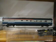 LIMA 4 mm SCALE HST RESTAURANT CAR IN CORPORATE BLUE / GREY
