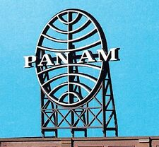 Blair Line O Or HO Scale Laser Cut Wooden Pan Am Airlines Billboard Sign 2525