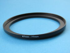 67mm to 77mm Step Up Step-Up Ring Camera Filter Adapter Ring 67-77mm