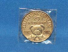 100 Year Anniversary Teddy Bear TY Beanie Baby Coin 100th Birthday 2002