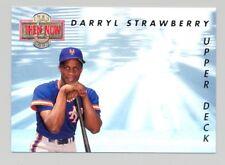 1993 Upper Deck Then & Now -- DARRYL STRAWBERRY  #TN8 -- GEM/MINT