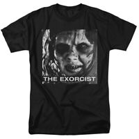 The Exorcist Movie Regan Approach 1973 Horror Officially Licensed Adult T-Shirt