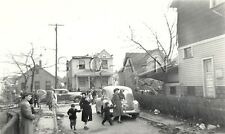Org 1942 Large Natural Disaster RP- Cleveland Ohio- Tornado Damage- Car- House