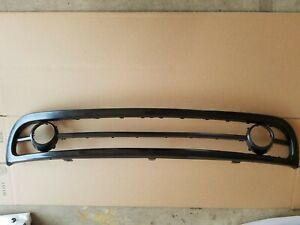 2PC Set 1998-2000 BEETLE Lower Front Bumper Grille Molding Trim w Fog Light Trim