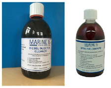 Marine 16 Diesel Injector Cleaner & Diesel Fuel Complete 500 ml Twin Pack