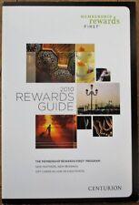American Express Centurion / Black Card 2010 'Membership Rewards First' Guide