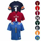 NCAA Official Football Jersey Collection By Adidas, Gen 2 Toddler Size (2T-4T)