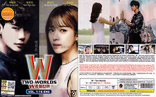 W – TWO WORLDS 더블유 (1-16 End) 2016 Korean Drama DVD with English Subtitles