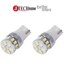2 x T10 18 SMD 3014 LED Super Bright White 194 168 2825 W5W Car Lights Bulb