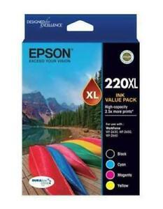 Genuine Original Epson 220XL High Yield / Value Pack Ink Cartridge