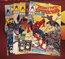 Deadly Foes of Spider-Man (1991) #1-4 (1,2,3,4) Set Al Milgrom