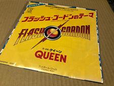 "Queen Flash Japan Import 7""ps 1980 Original Vinyl Excellent"