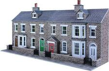 METCALFE PO275 1:76 OO/HO SCALE LOW RELIEF STONE TERRACED HOUSE FRONTS