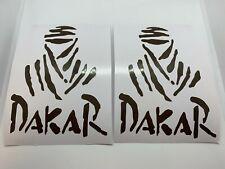 2 Adesivi Dakar