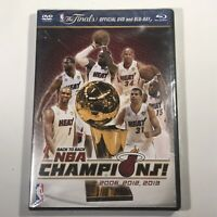 NBA: 2013 NBA Champions - Highlights (DVD/Bluray, 2013, 2-Disc Set)