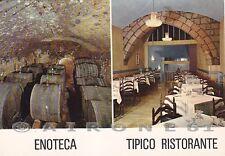 TERNI ORVIETO 24 ENOTECA RISTORANTE VINO - VEDUTINE Cartolina PUBBLICITARIA