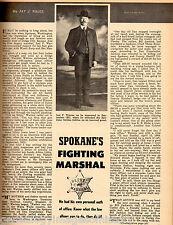 Joel F Warren - Spokane's Fighting Marshal +Kalez,Libby,Jackson,Dillon,Hyde