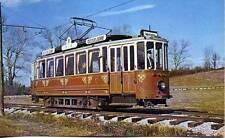 Tram 955 Dusseldorf Germany Trolley Museum Wheaton Maryland USA 1969 postcard