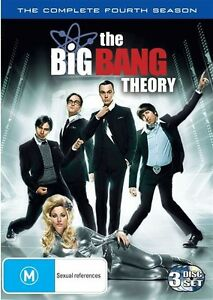 Big Bang Theory : Series 4 DVD Complete Fourth Season Four - FAST SAME DAY POST