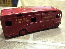 Dinky SuperToys 581 horse Box Meccano