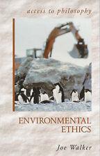 Environmental Ethics by Joe Walker (Paperback, 2000)