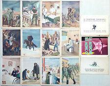 WW2 Propaganda - La Missione del Medico - Serie 12 Cartoline + Astuccio - ST199