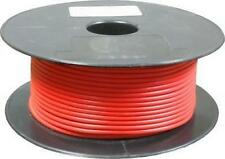 Red Multi Strand Cable 80/0.40 10mm² Flexible Full 30m Roll 70A Amps 10mm