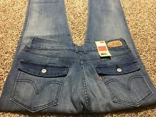NWT LEVI'S MID RISE SKINNY JEANS NEW DESIGNER JEANS WOMENS SIZE 10