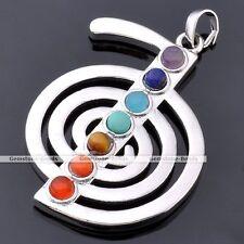 Cho Ka Rei Power Symbol Chakra Reiki Gemstone Healing Point Pendant For Necklace