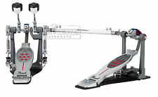 Pearl Eliminator Redline Left-Handed Double Bass Drum Pedal - Belt Drive
