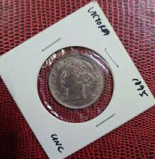 1895 Straits Settlements Victoria 20 Cents Silver 'UNC'【KM#12】