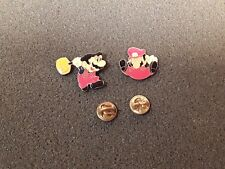 Super Mario Bros pin Nintendo button Metal video game apparel 1980's