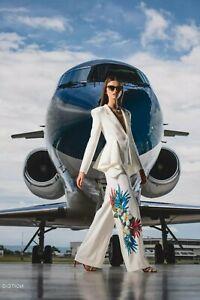 wholesale Halloween Christmas runway Lapel neck Button Suit Pocket Pants suits