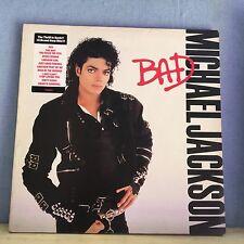 MICHAEL JACKSON Bad 1987 vinyl LP Record  Excellent Condition   A