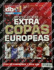 DON BALON EXTRA FUTBOL COPAS EUROPEAS 2007-2008 CHAMPIONS LEAGUE - UEFA CUP