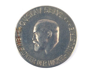 German Commemorative Medal Gustave Selve - A Pioneer of the Nickel Industry 1924