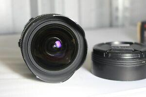 Sigma 8-16mm f4.5-5.6 DC HSM, Nikon Fit - Please read