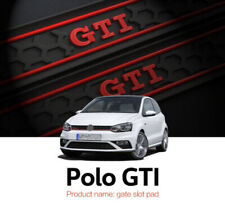 Fits VW Polo GTI 2011-2017 Rubber Non-slip Gate Slot Mats Cup Holder Pad 9pcs