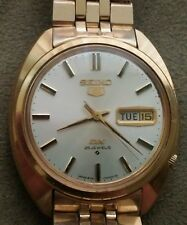 Nice Vintage Mens SEIKO (5) DX Automatic Day/Date Wristwatch#6106-7000(25 Jewel)
