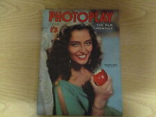 May 1952, PHOTOPLAY, Marina Berti, Vera Ralston, Scott Brady, Tony Curtis.