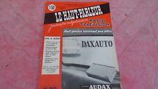 le Haut parleur journal de vulgarisation radio télévision n°1089 juillet 1965