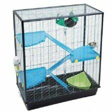 Rat Cage 3 Levels Extra Tall Ideal for Ferret Gerbil Hammock Snap Lock Doors