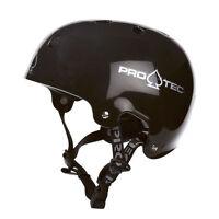 ProTec Watersports Helmet Old School Wake Gloss Black XS-S-M-L-XL Canoe Kayak