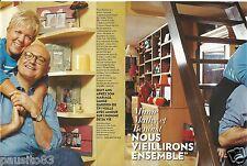 Coupure de presse Clipping 2013 Mimie Mathy et Benoist  (4 pages)