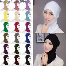 Muslim Under Scarf Cotton Inner Ninja Cap Full Cover Hijab Women Hat Headwear